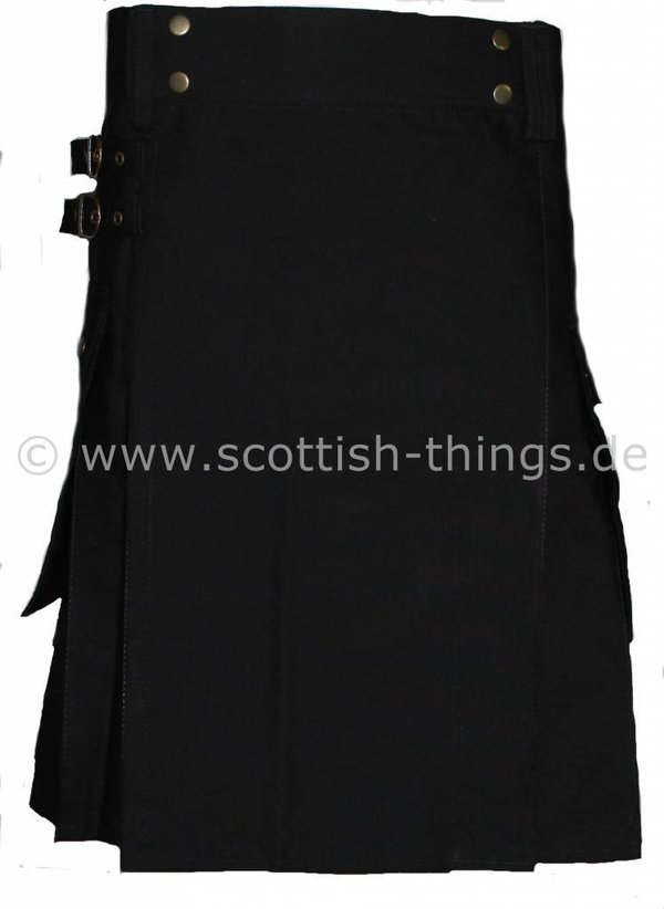 Black Kilt - black solid