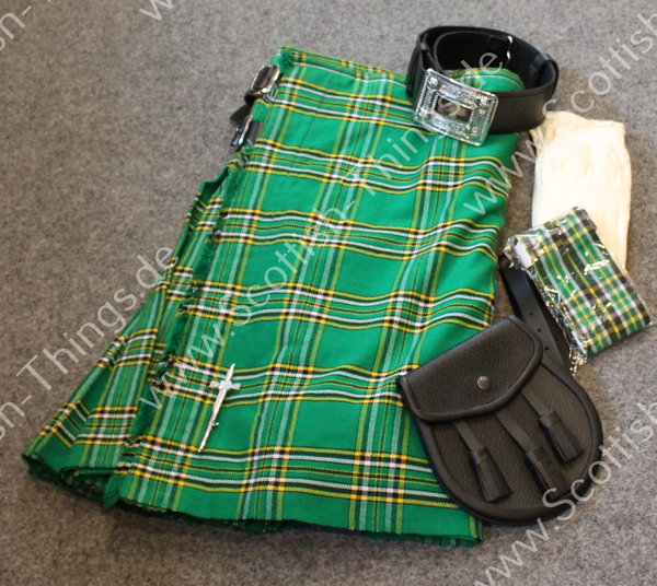 Kilt Outfit irish national Gr. 54  inch