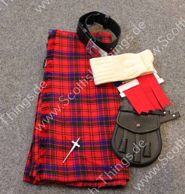 Kilt Outfit Robertson red Gr. 36 inch